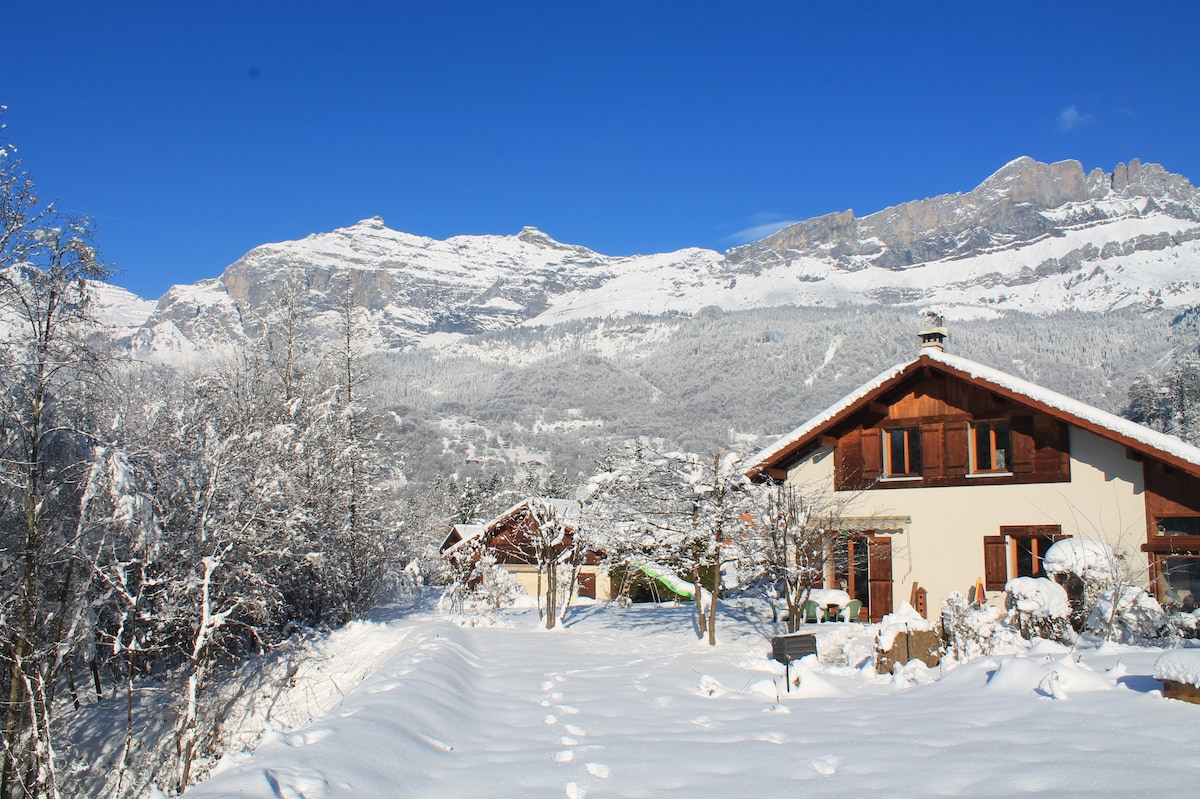Family home in beautiful Servoz
