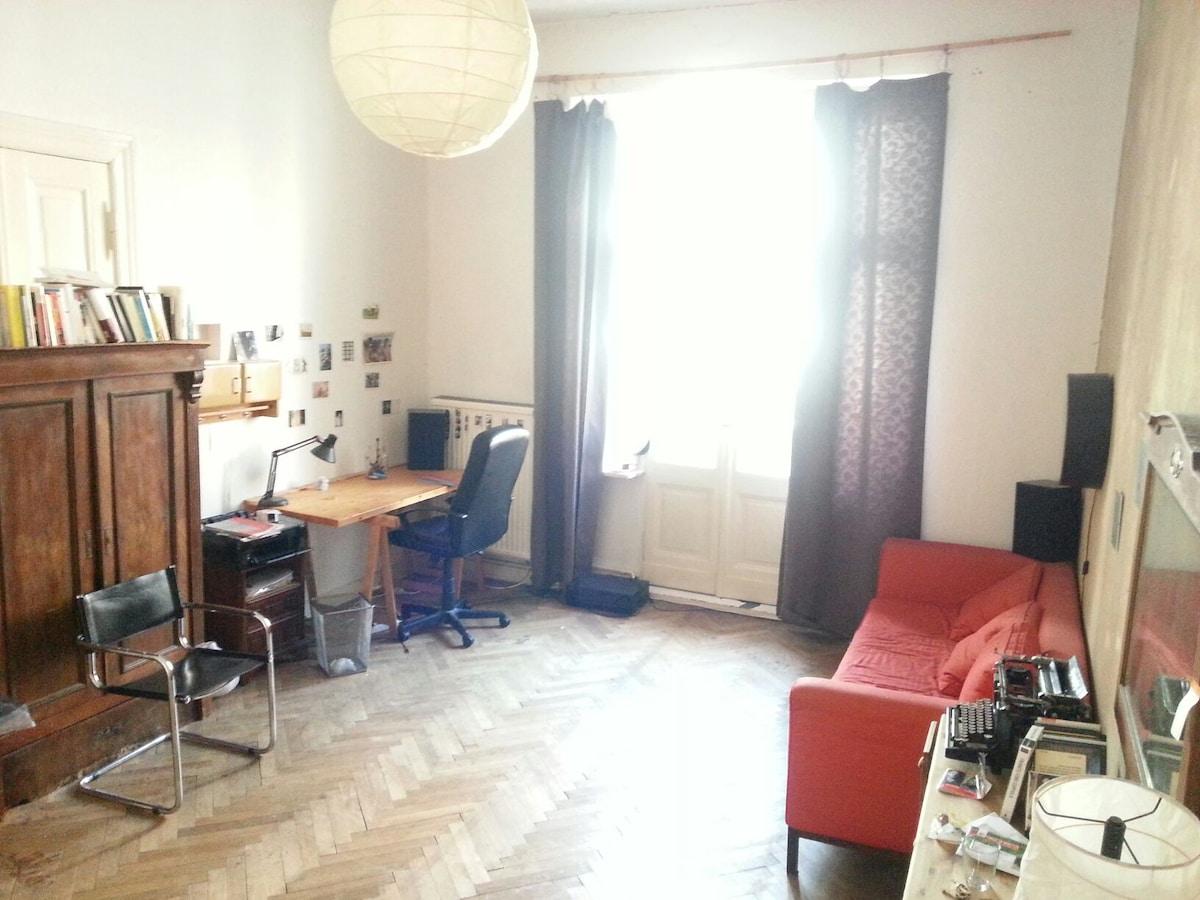 Big Sunny Room in Kreuzberg Balcony