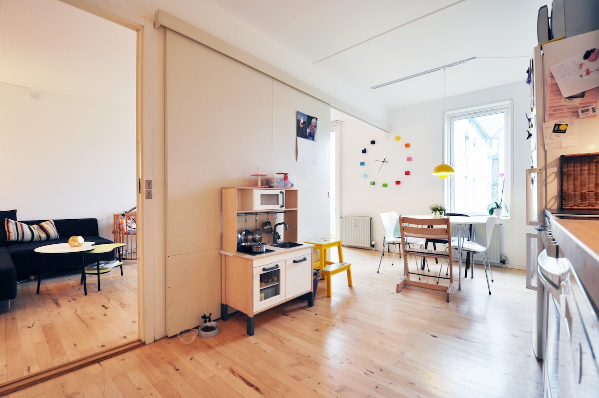 Family home by Christianshavn canal