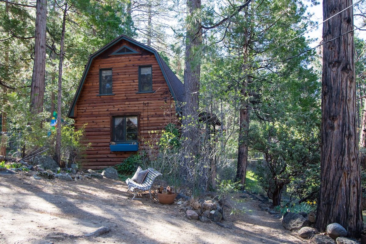 Log Cabin for Two in Idyllwild, CA
