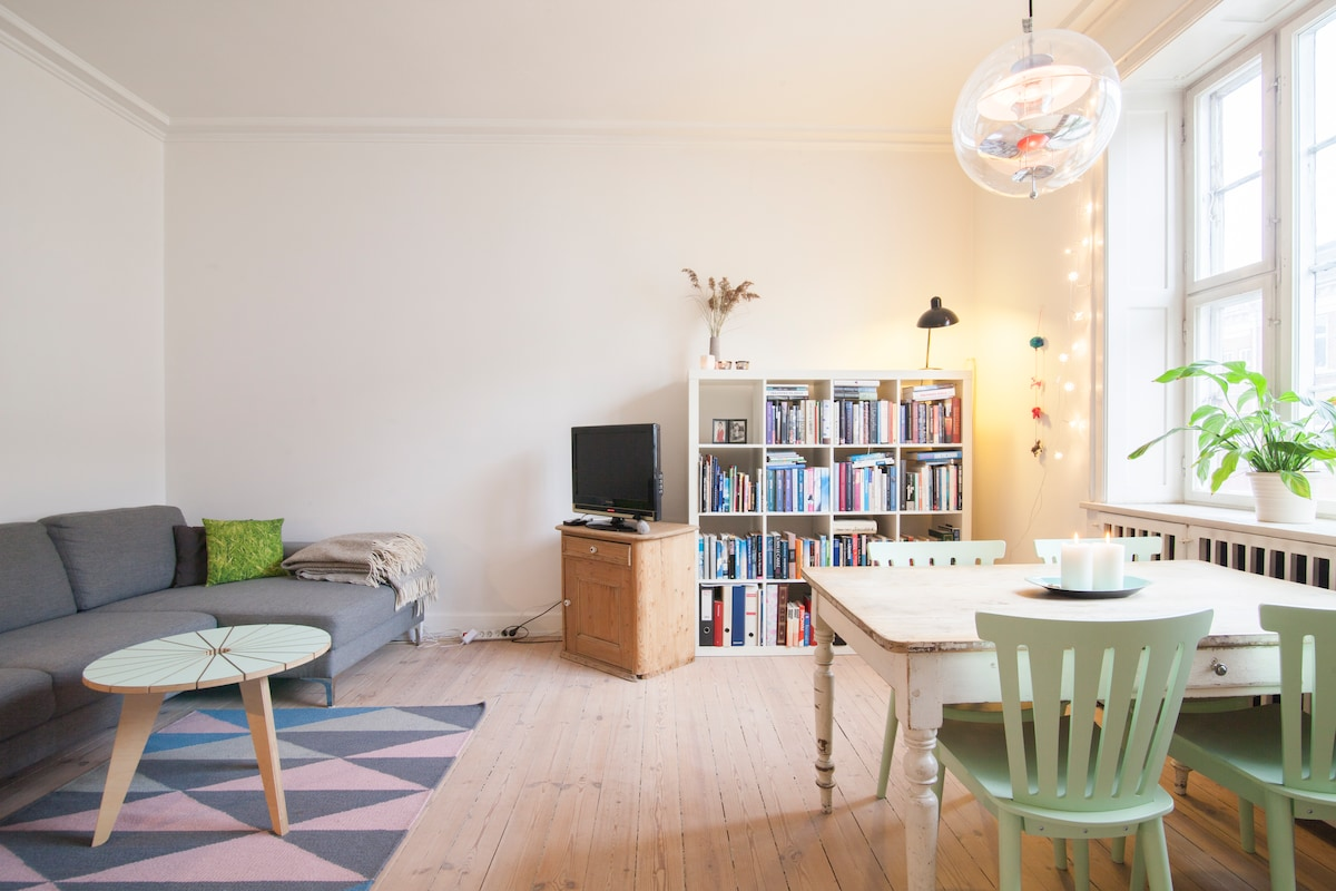 Cosy apartment in cool district