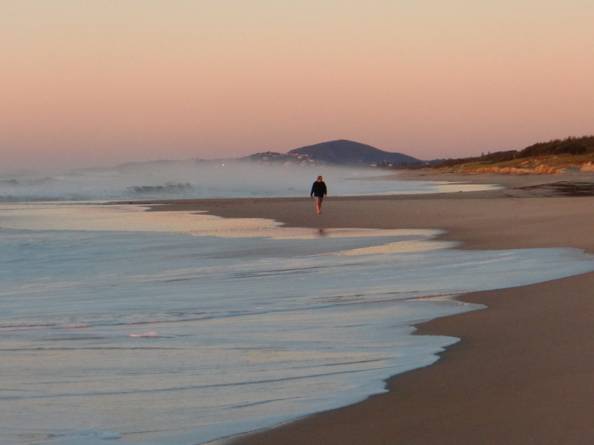 Winters dawn Sunrise Beach