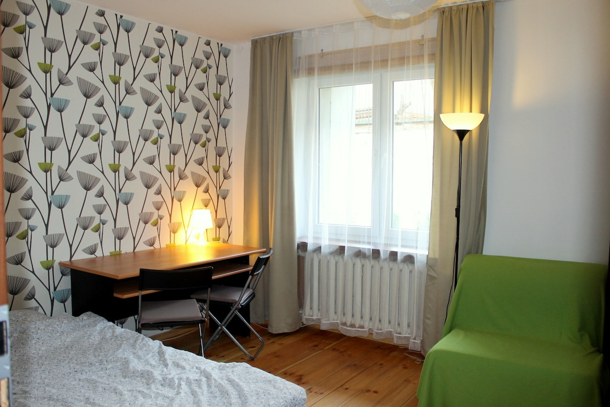 Triple room with 1 double bed, 1 single bed and 1 rollaway bed