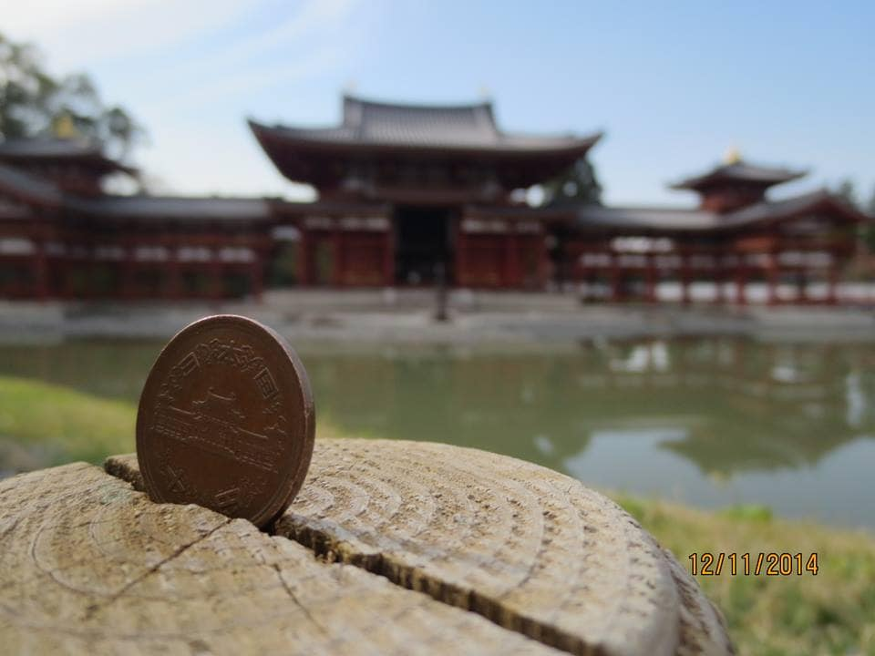 World Heritage:Byodoin Temple 2Stops 6minutes