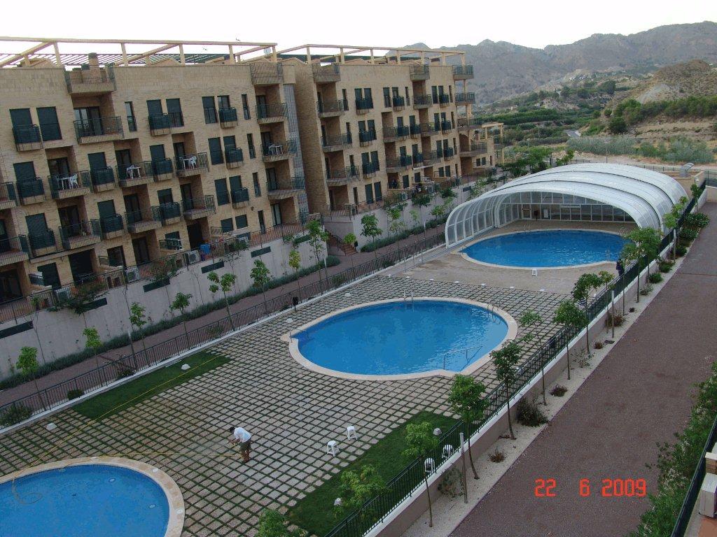 Duplex with terrace/BBQ, pool & Gym