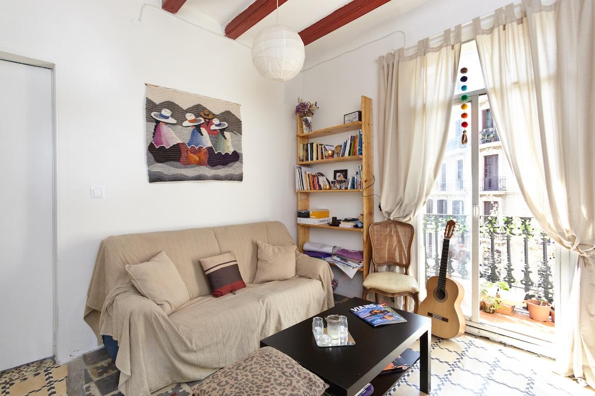 Sunny Single Room Sagrada Familia