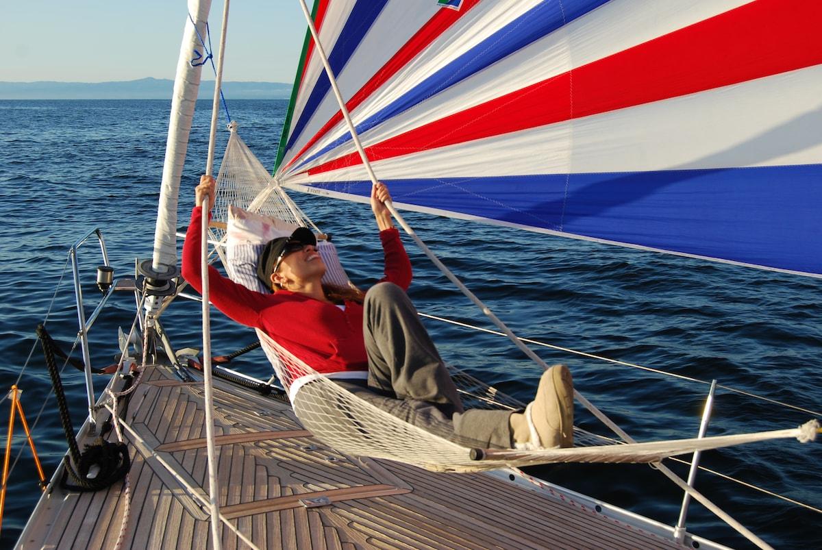 47' Luxury Yacht on  Monterey Bay