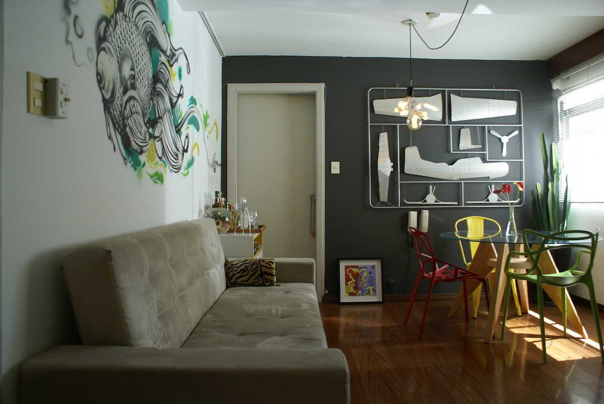 Cozy and well located apartment