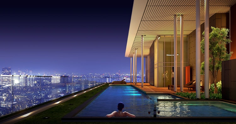 Penthouse in the heart of Bangkok