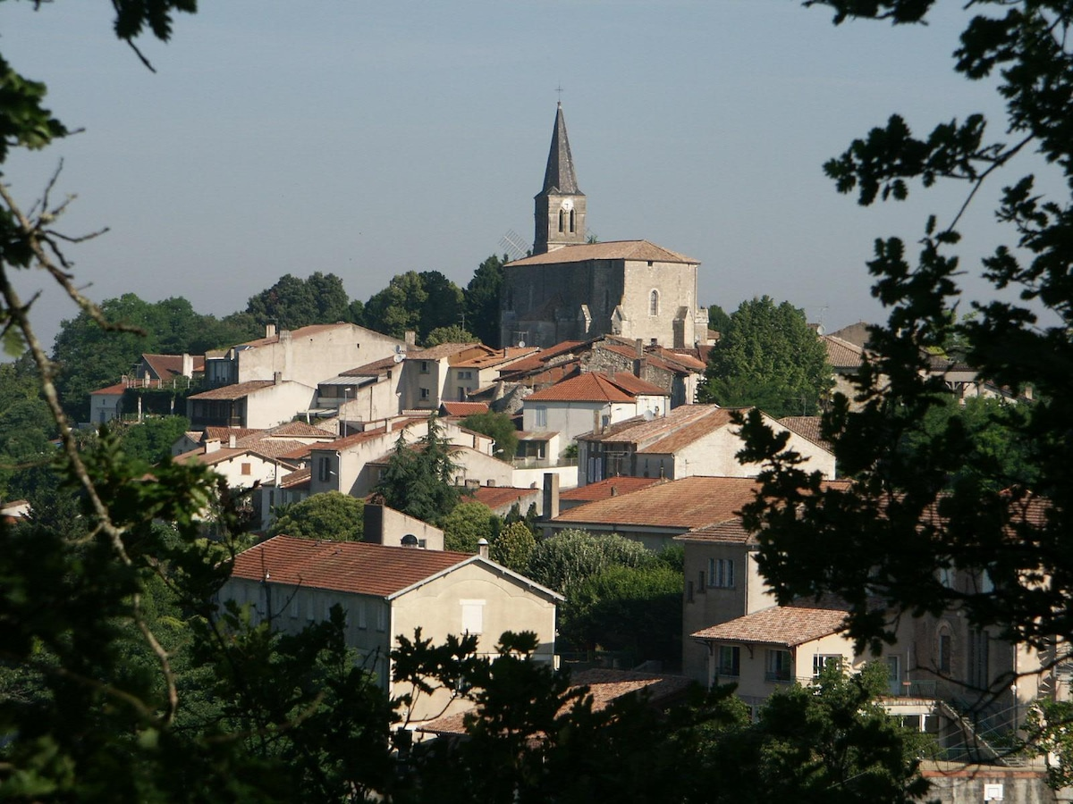 Welcome to the 13th century village of Montpezat in southwest France