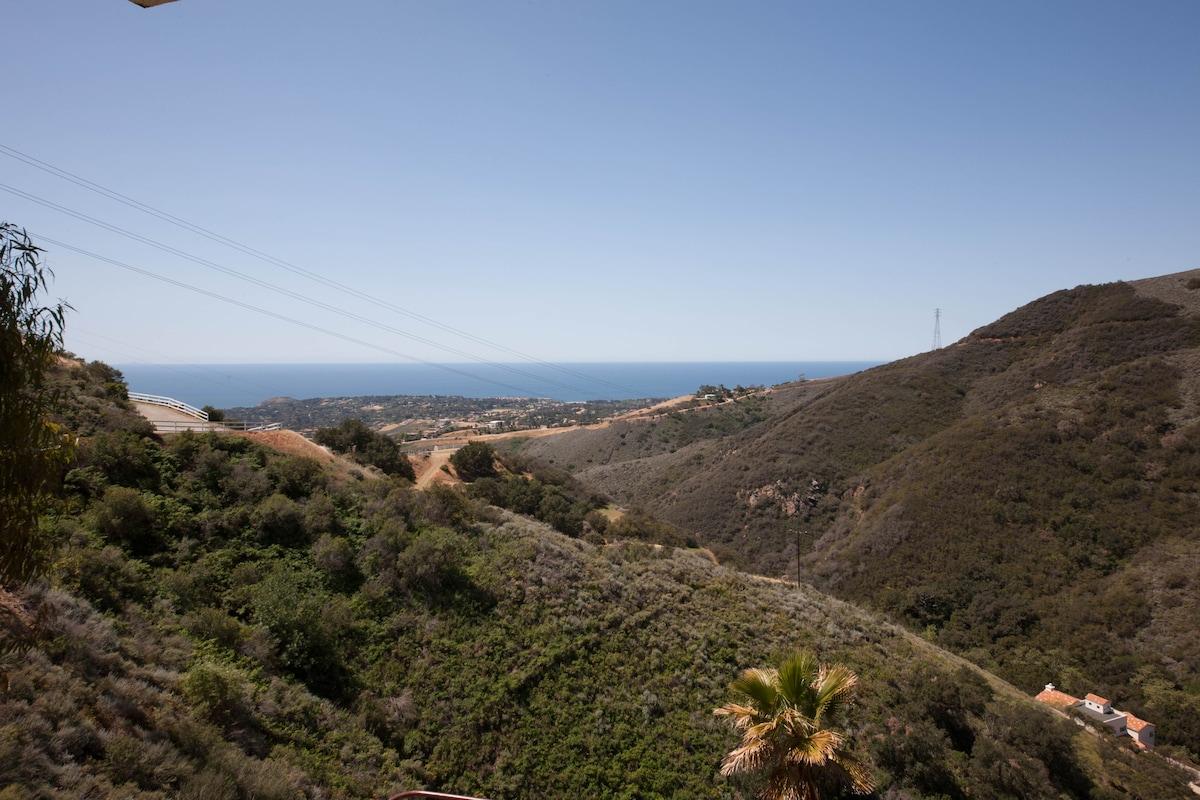 Malibu Ocean View Cabin