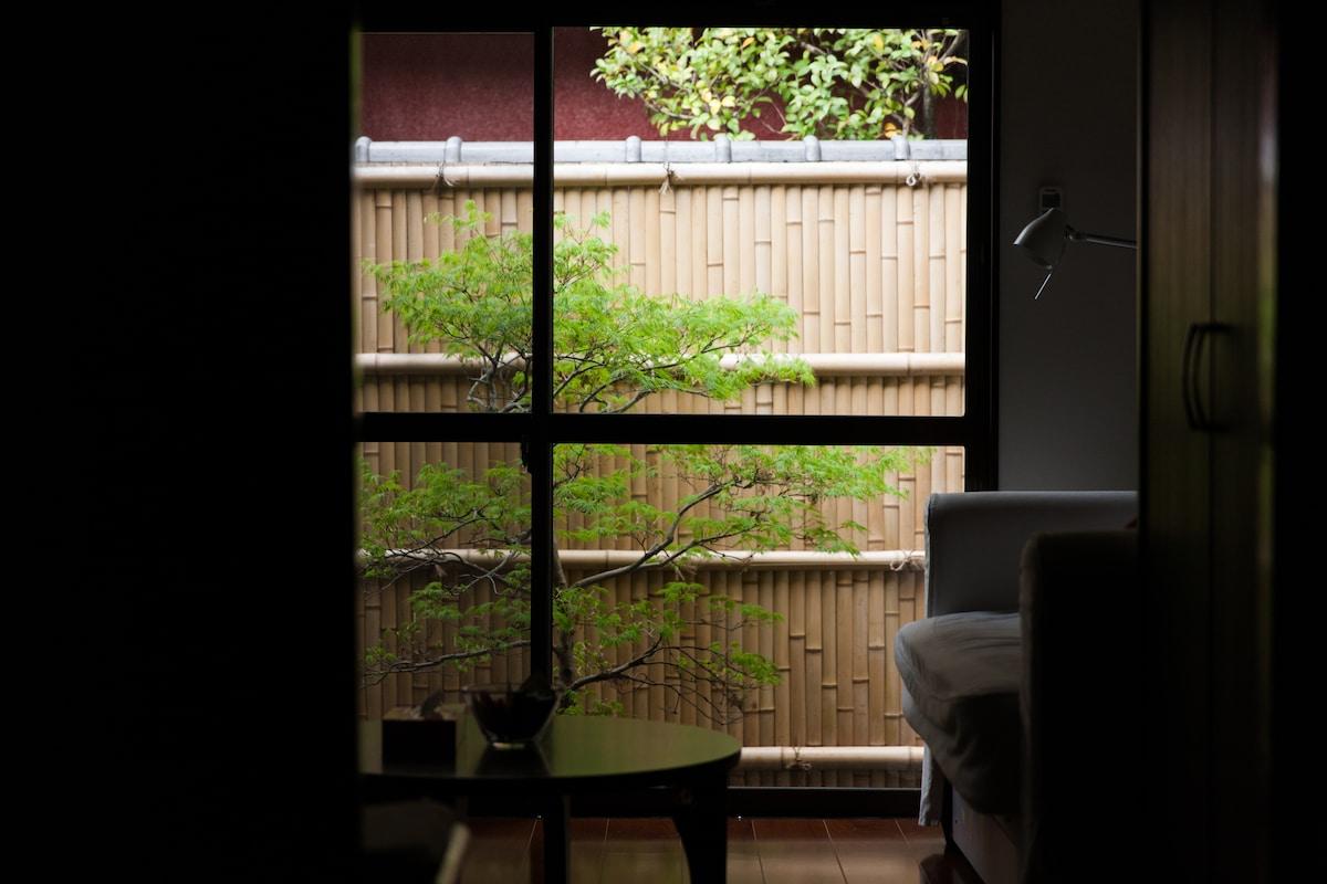 Japanese house near Kyoto station