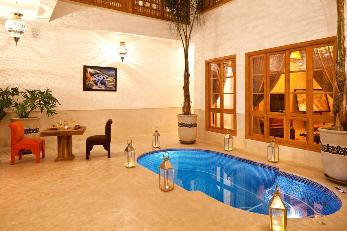 Riad Tahili Chambre luxe Patchouli