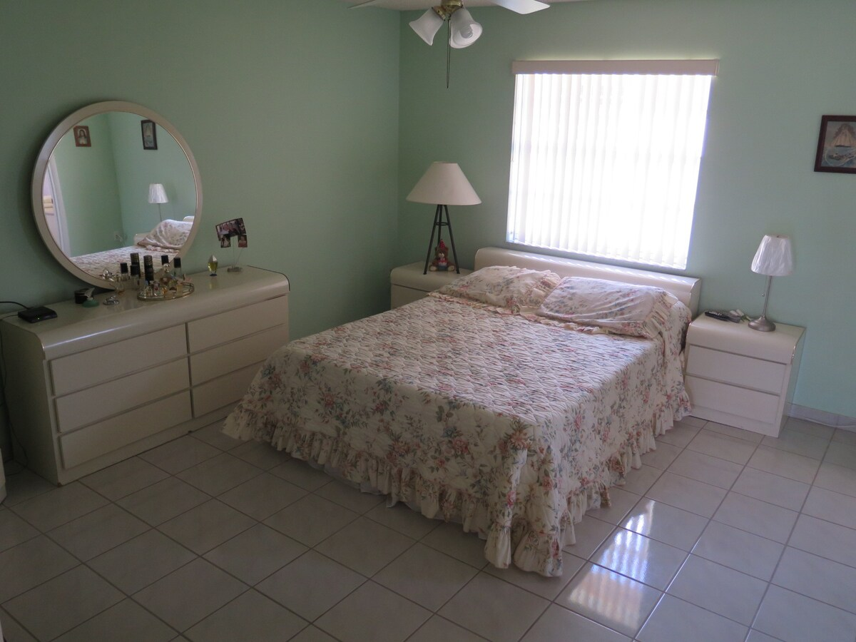 Large room with private bathroom