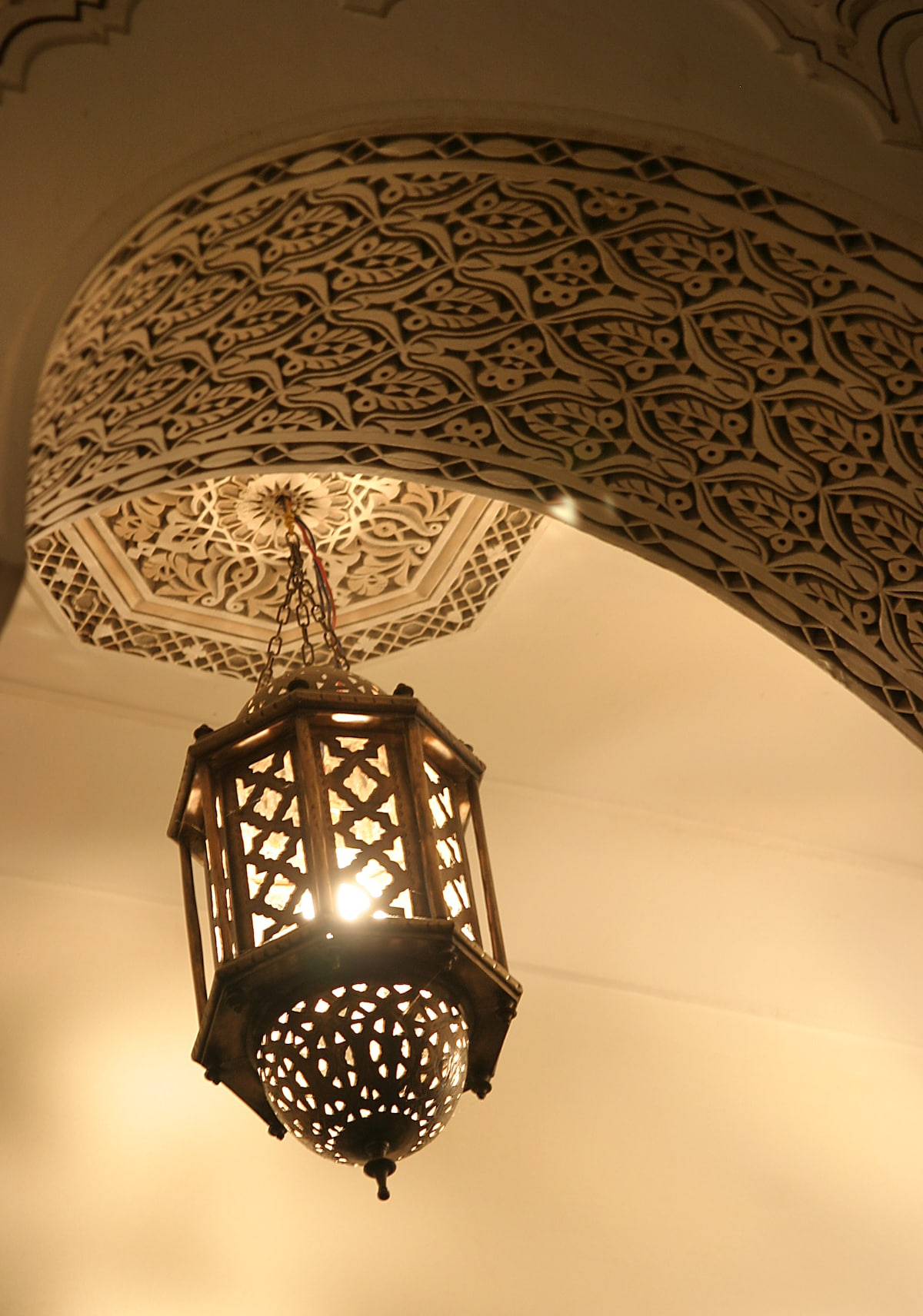 lantern above the room's Zahia entrance