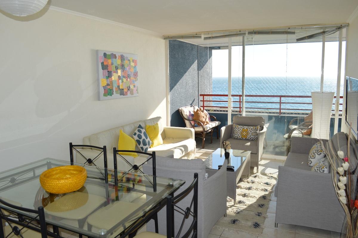 Hermosa vista al mar Renaca cochoa