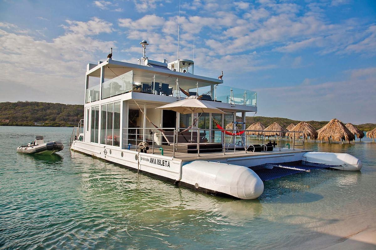 Casa Navegante / Floating House