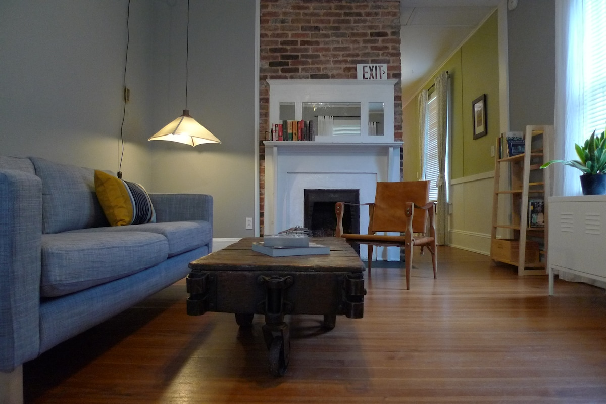 Historic Cabbagetown townhouse!