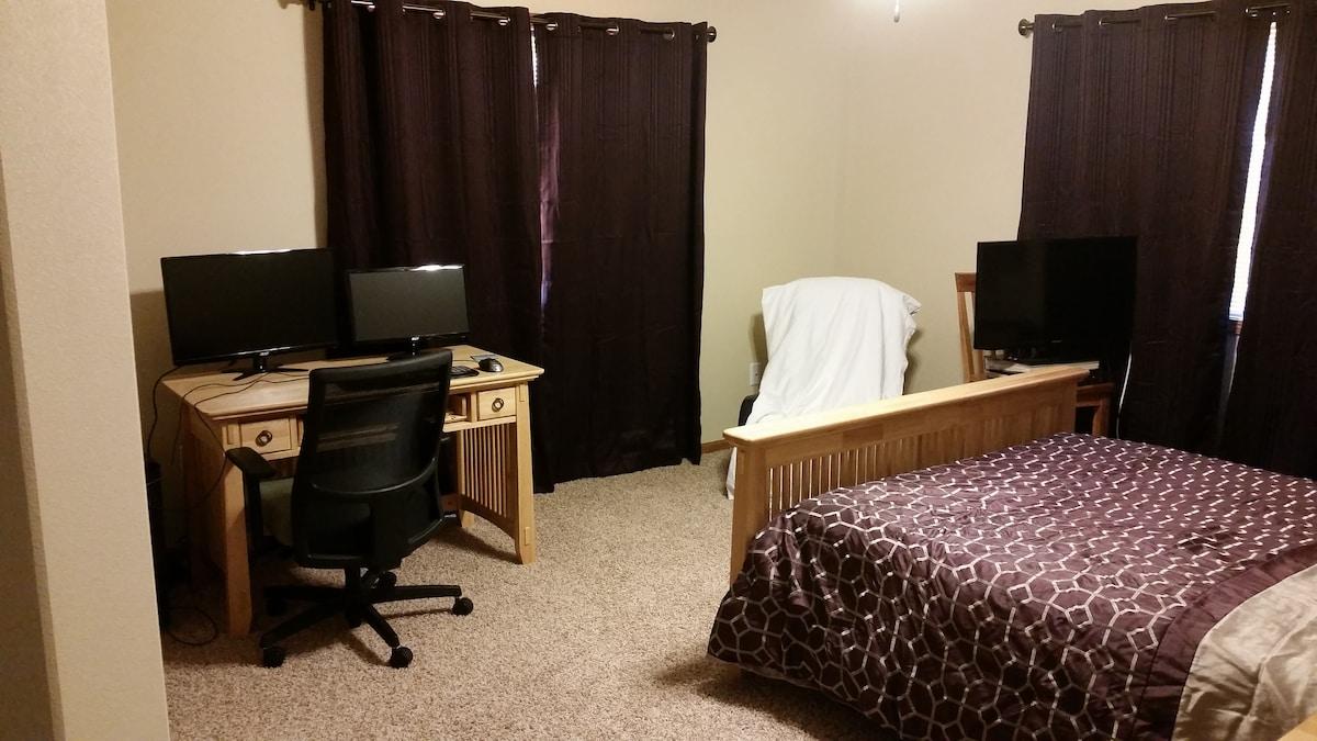 Cozy Master Suite and Bathroom