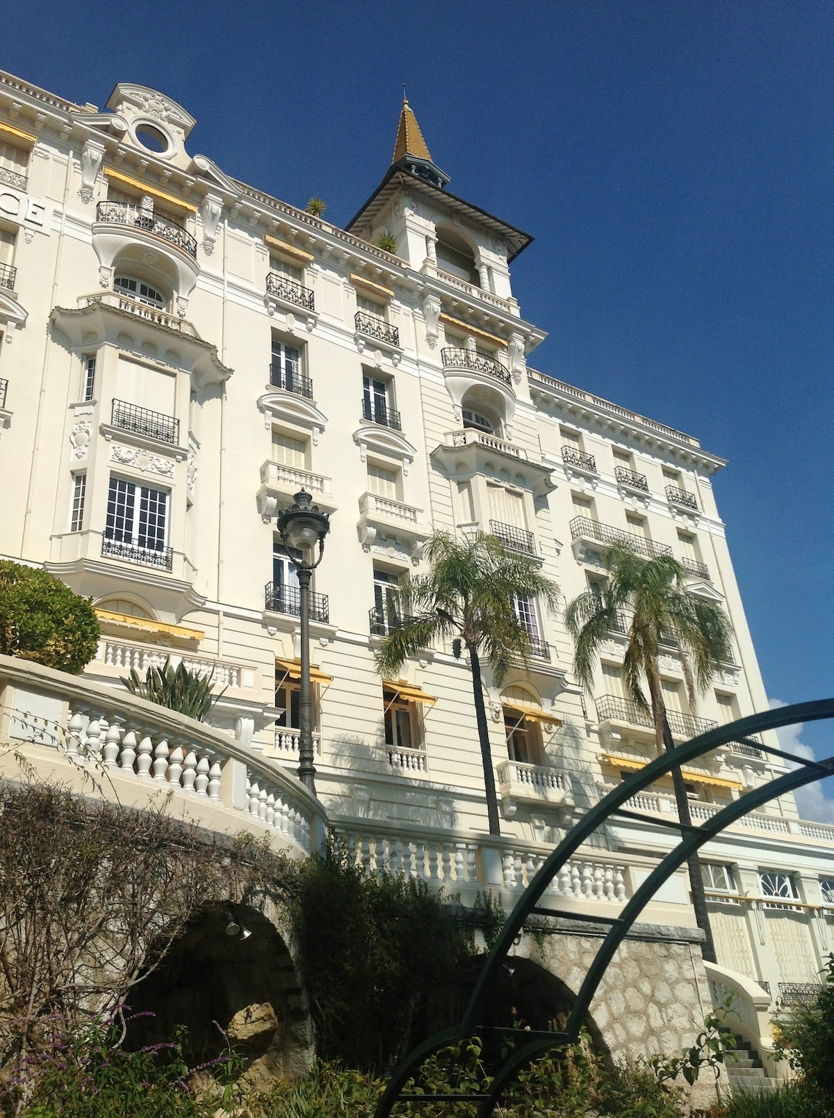 Flat, Winter Palace, Menton, France