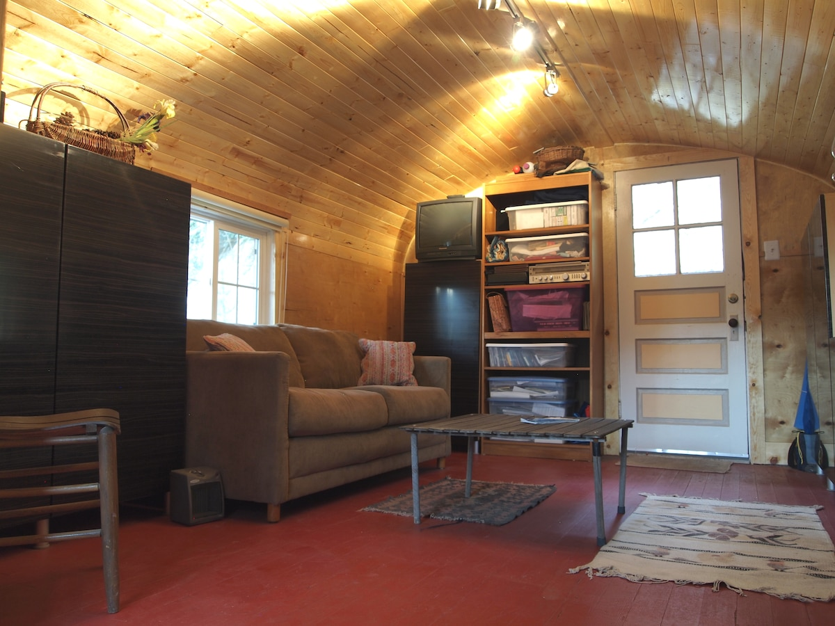 This is the cabin you will be renting
