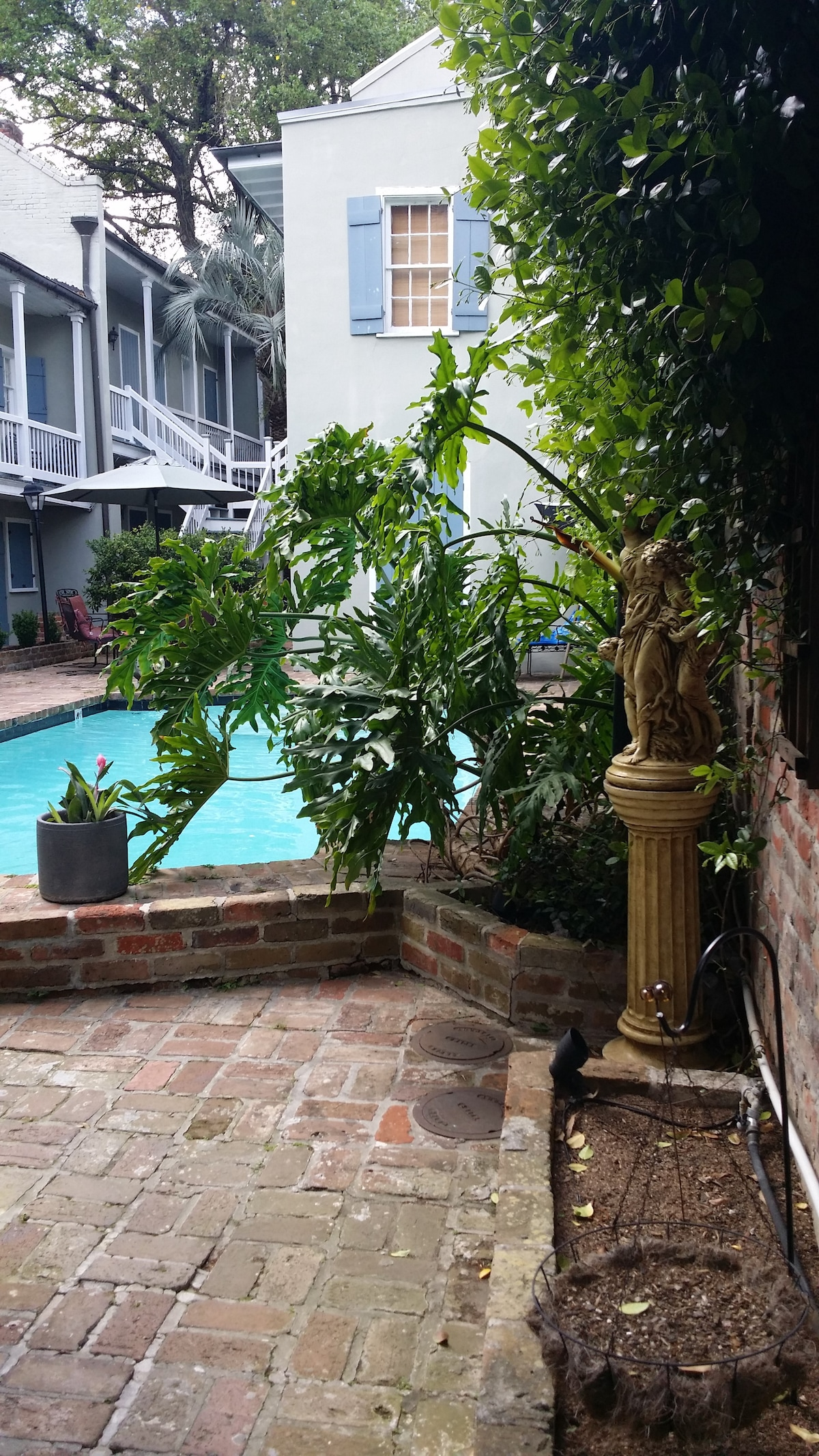 French Quarter Pool House