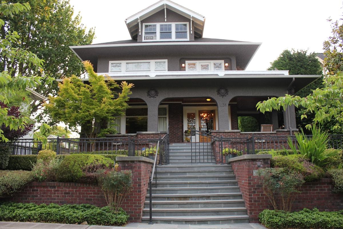 Classic Beautiful Seattle Home