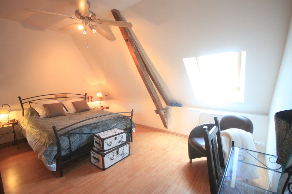 Big bedroom in Dordogne Périgord
