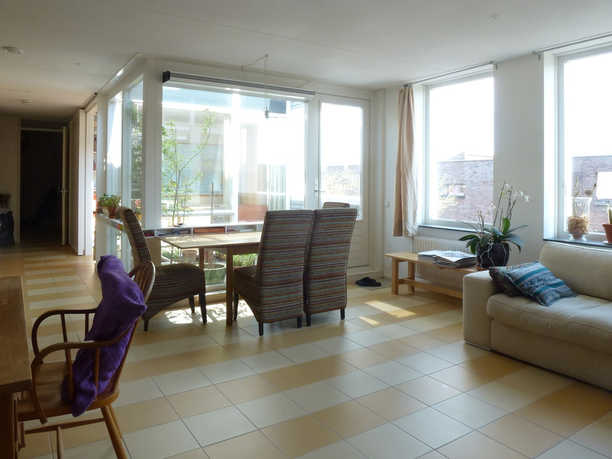 room in sunny apartm. near station