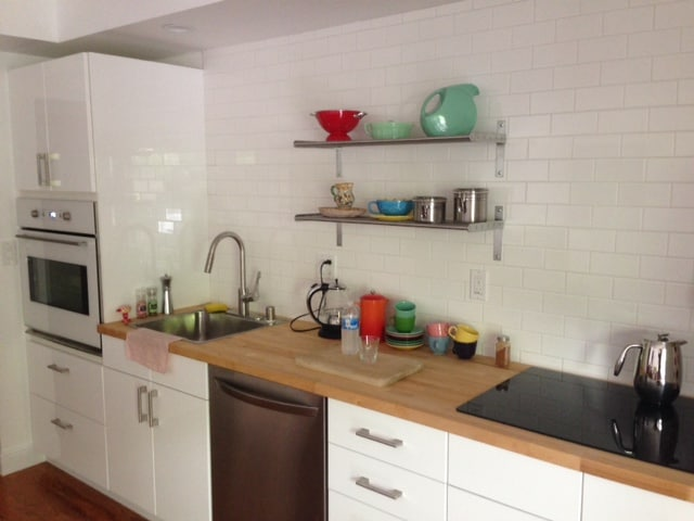 Wall oven, cook top, dishwasher