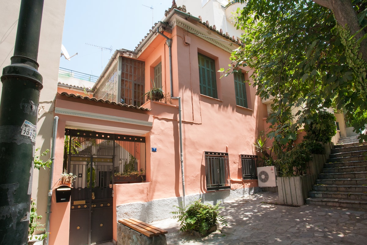 Live a unique and authentic Athenian experience in a 19th century house right in the heart of Athens!!