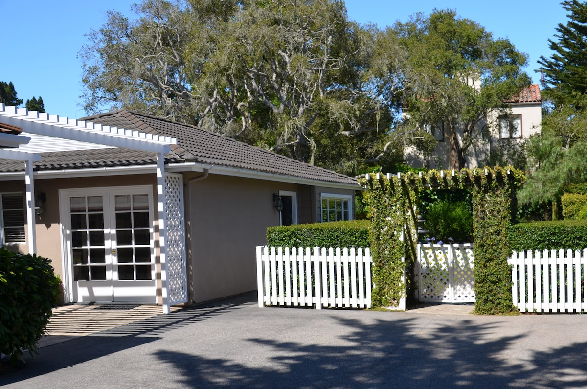 Guest House Entry & Yard Gate