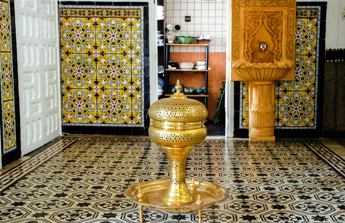 Typical moroccan house in Rabat
