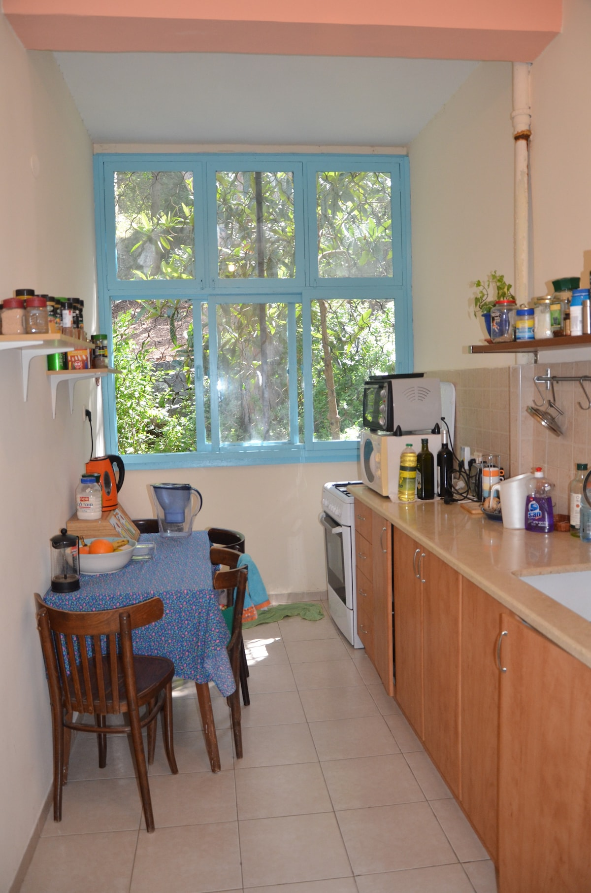 A Beautiful fully equipped kitchen