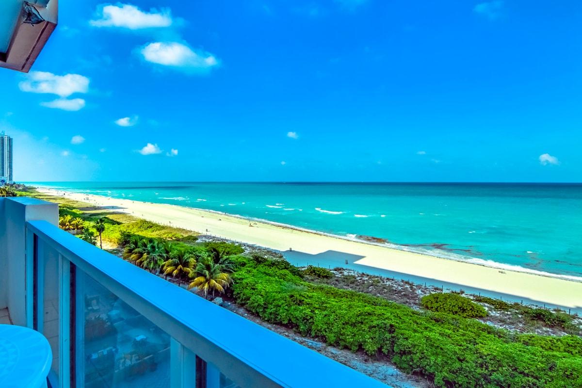 MIAMI BEACH OCEAN FRONT 2BD APT !!!
