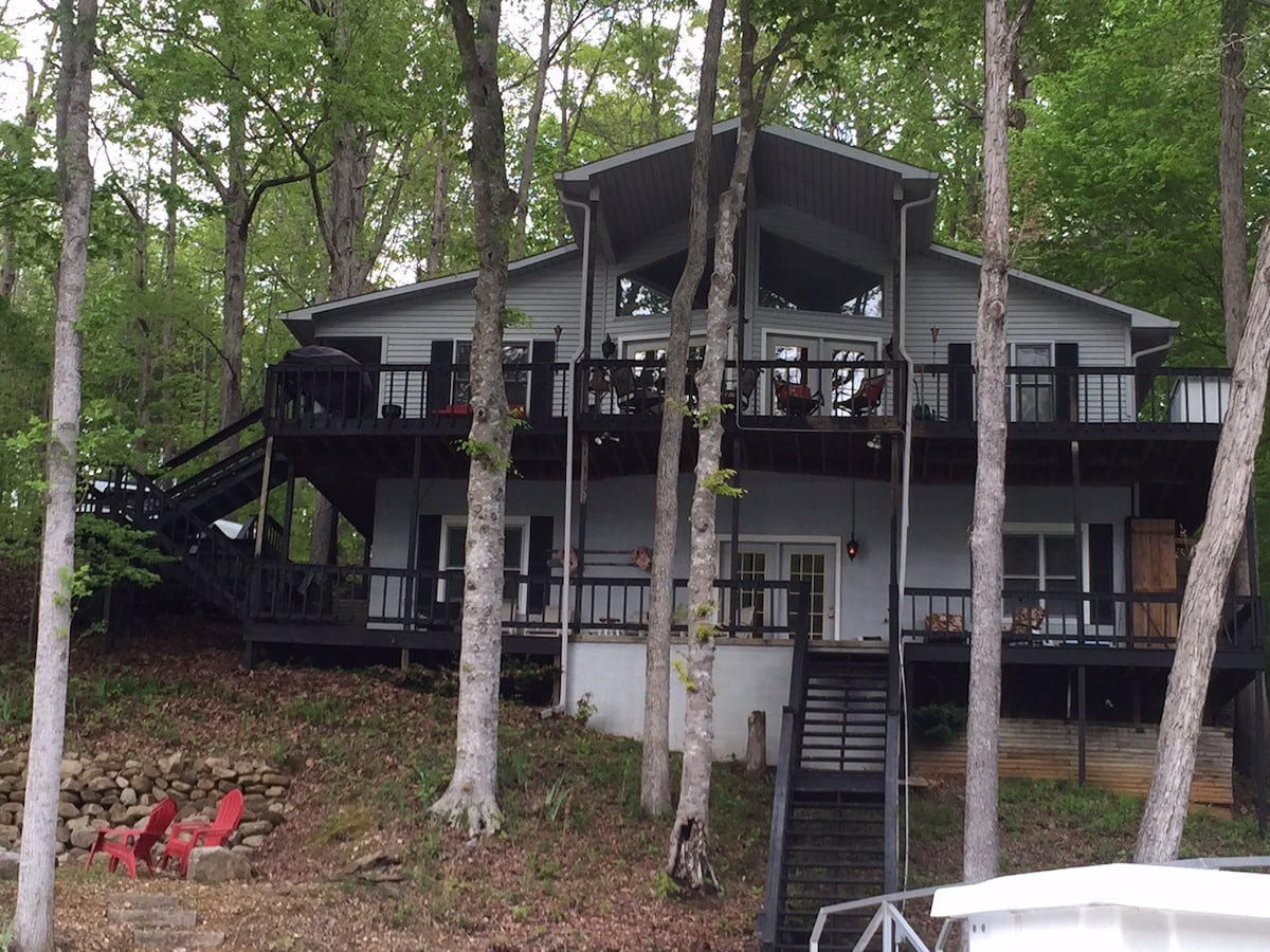 Lakehouse Retreat on Tims Ford Lake