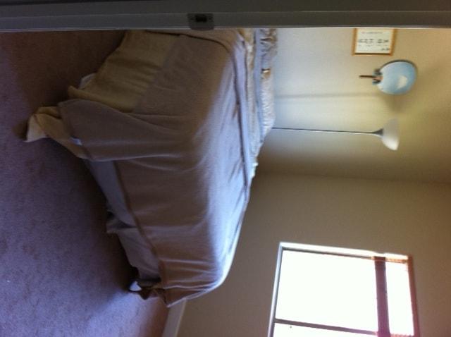Guest bedroom - super comfy pillow-top mattress, tons of light