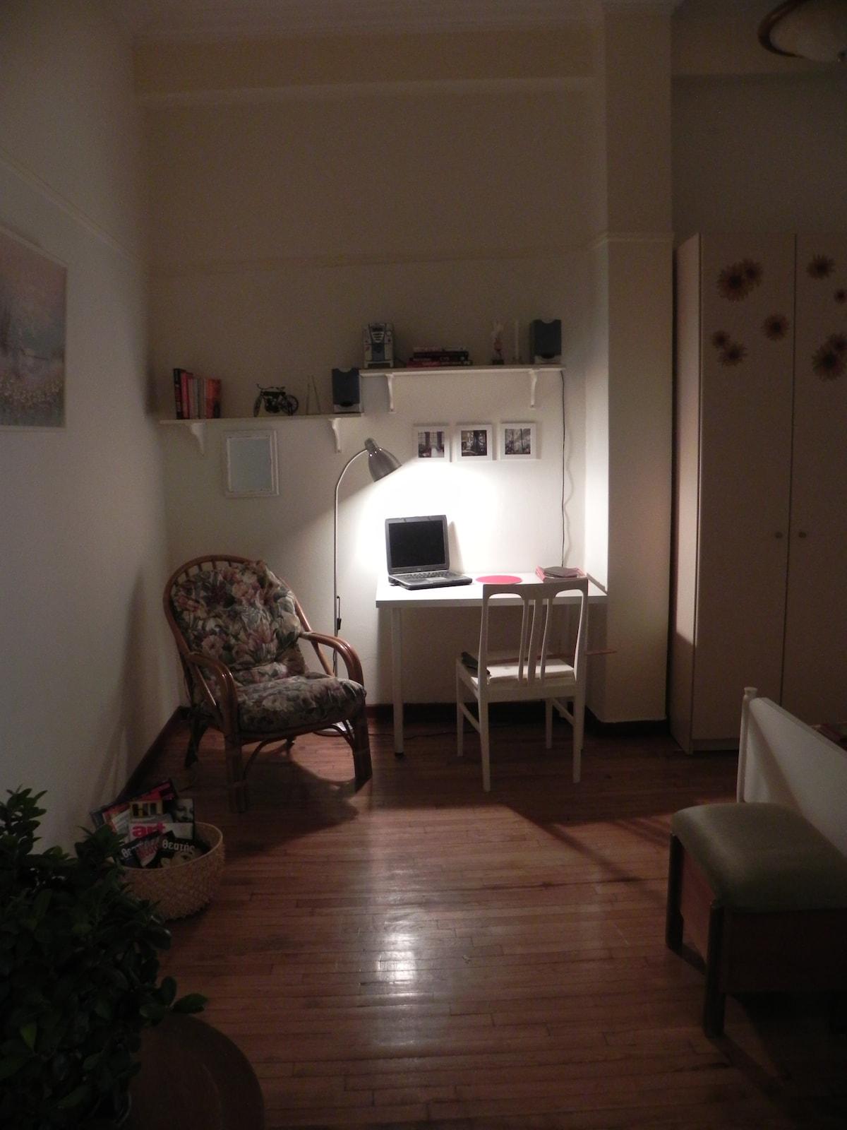 Relaxing office corner