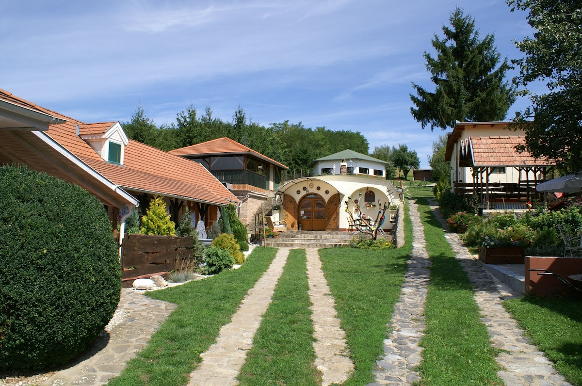 Small holiday park and B&B in one!