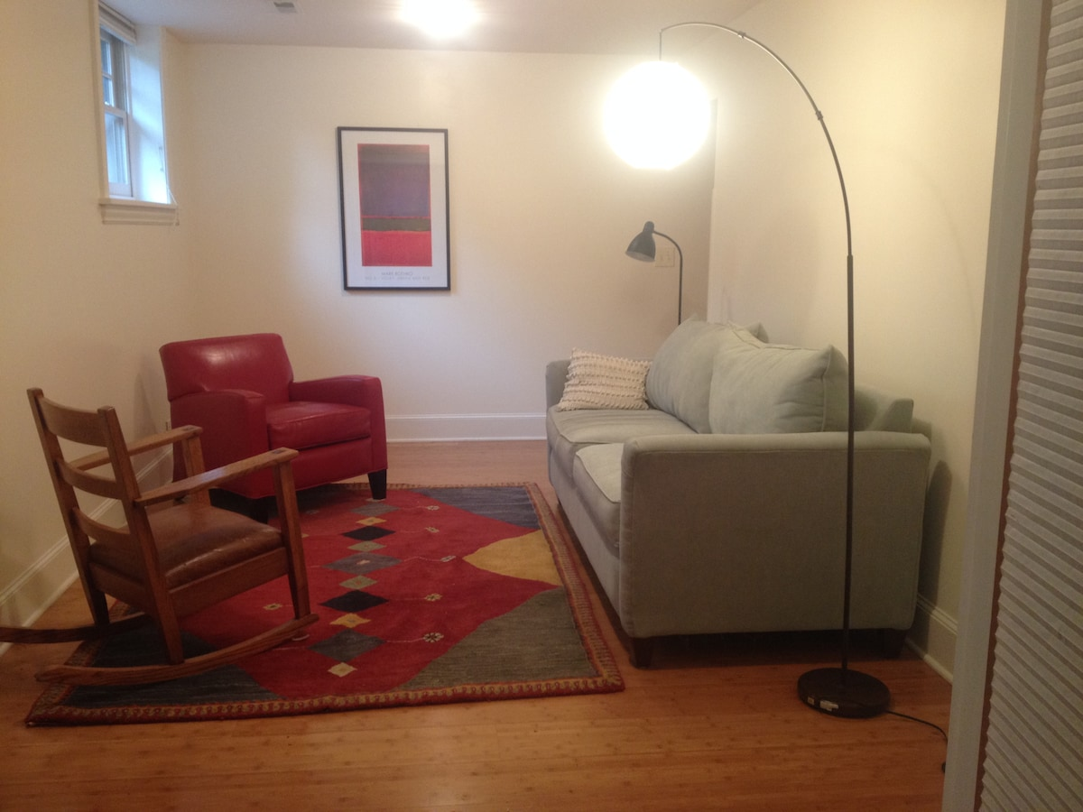 Cozy 1BD Apartment in Wallingford.