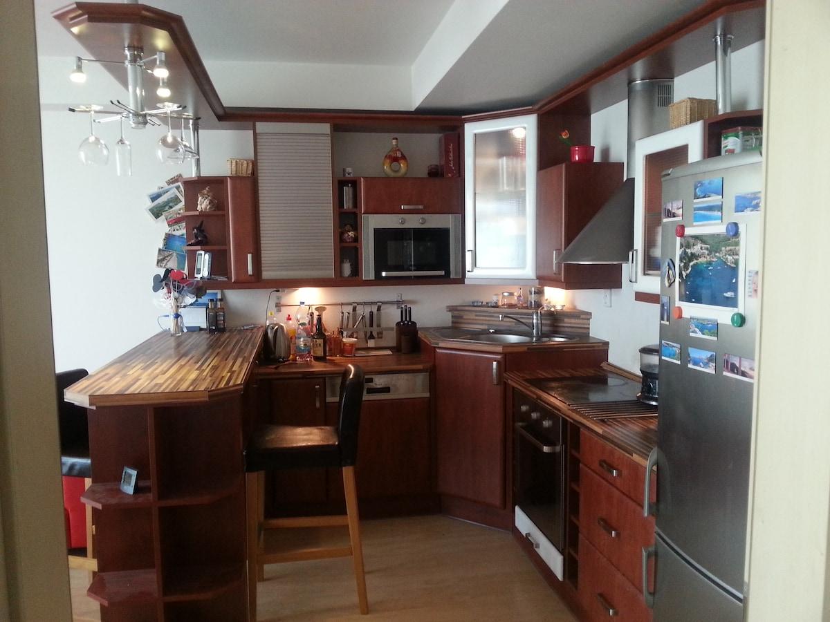 Luxury apartment - air conditioned