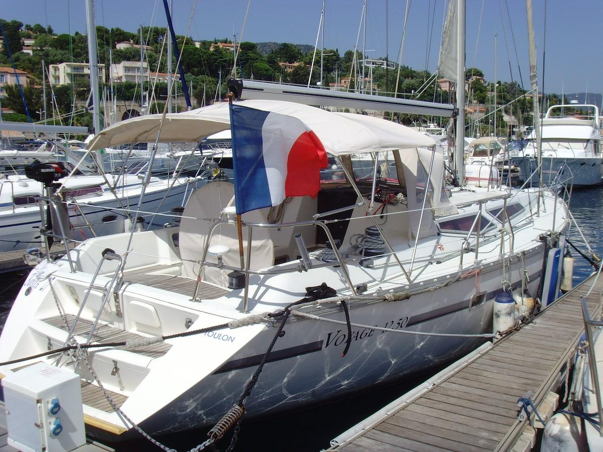 Bateau confortable Propriano, Corse