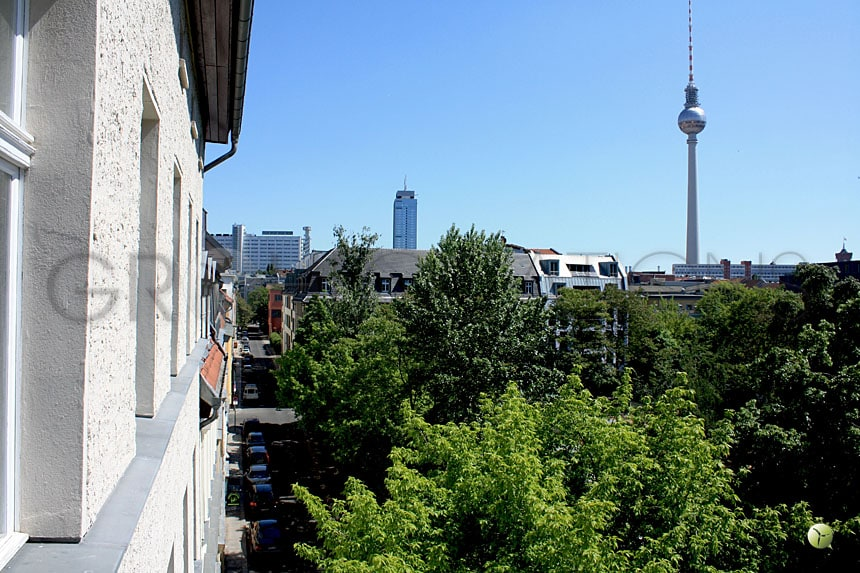 Penthouse in the heart of Berlin Mitte