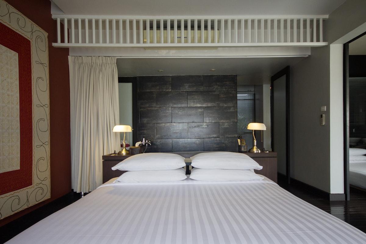 Loog Choob Homestay: A family suite
