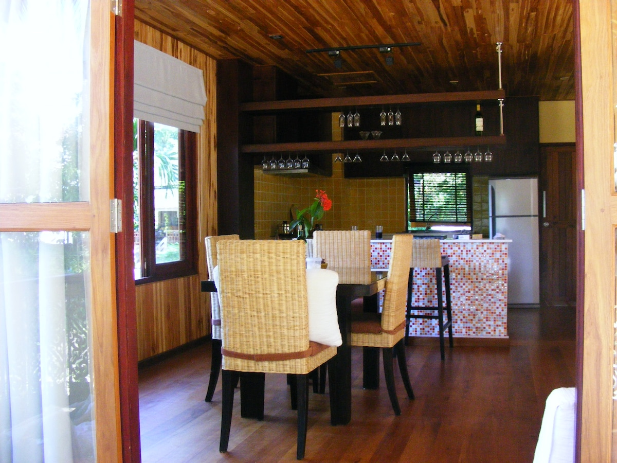 Dinning and kitchen from outside