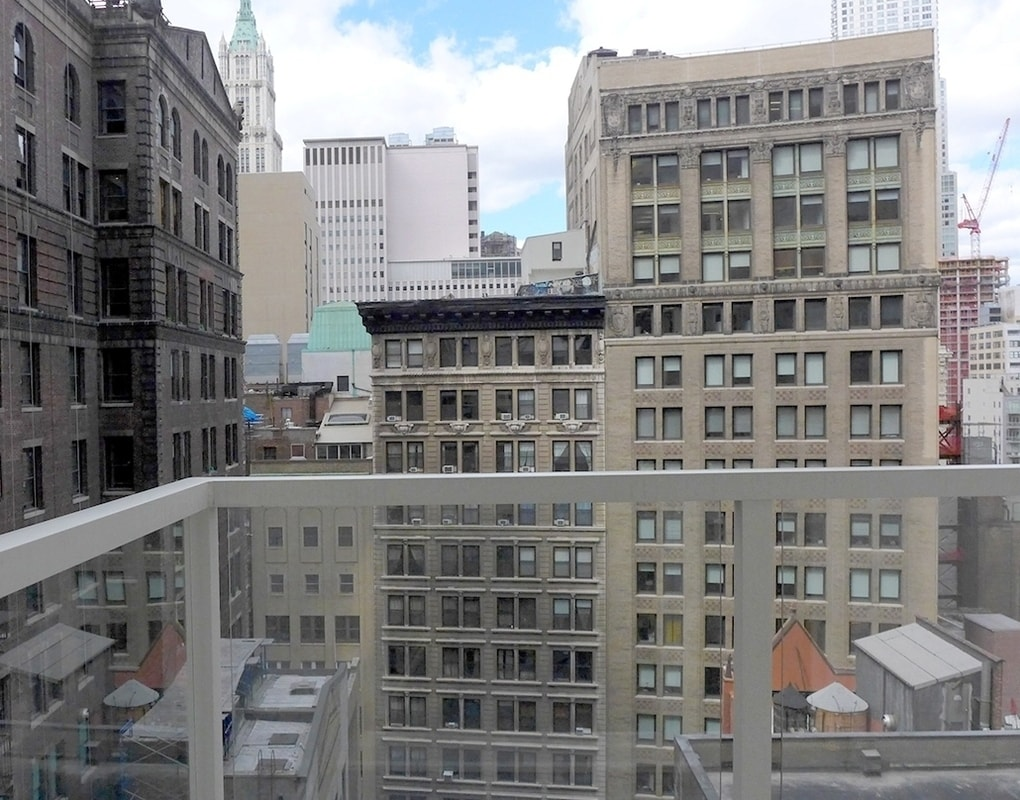 A private balcony for you to take in the wonders of New York City and the environment