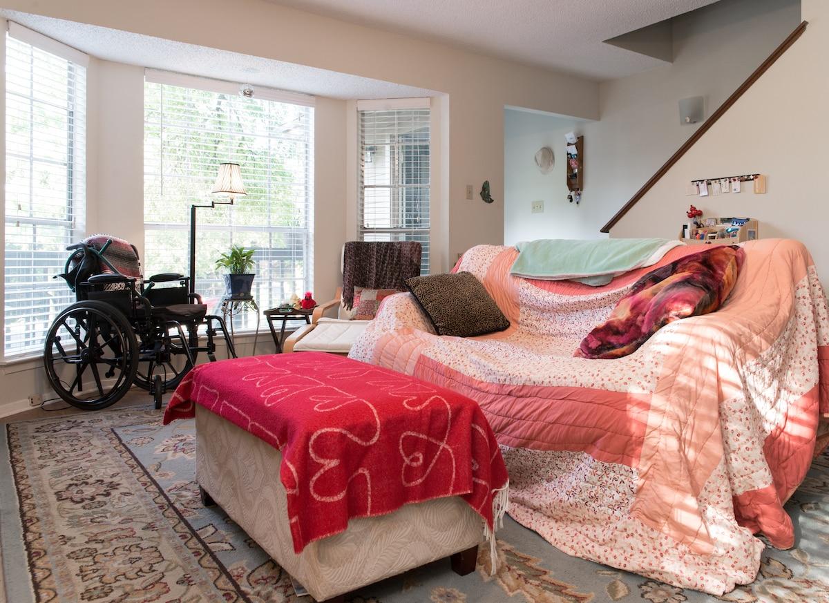 Master Bedroom & Balcony- S. Austin