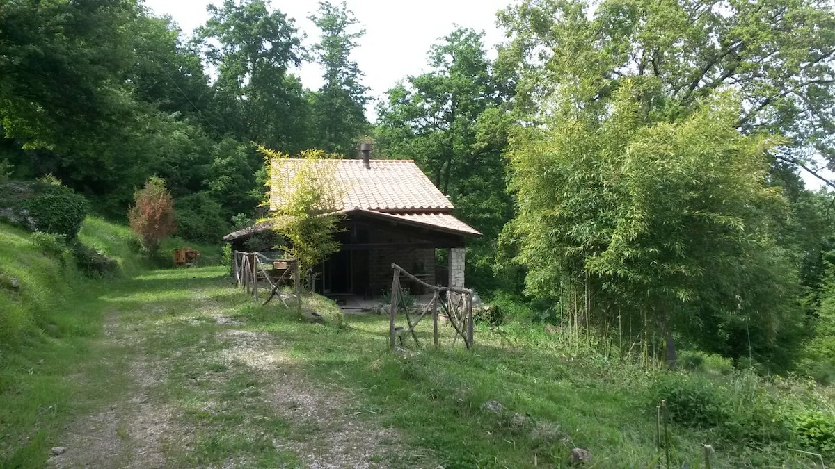 wood country house lazio-umbria