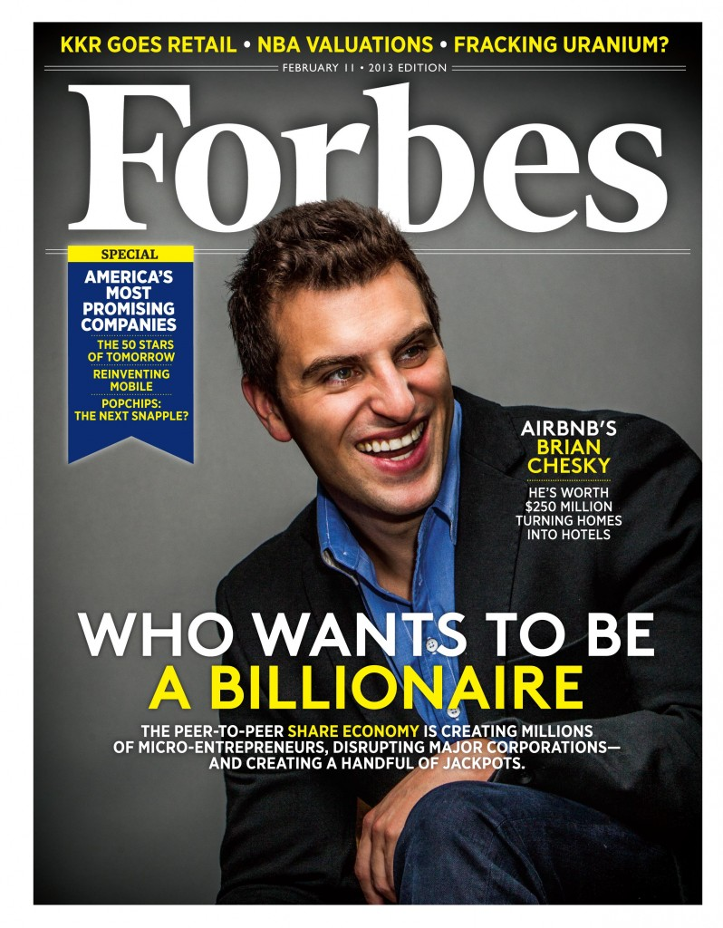 Our 1st guest on Airbnb was Airbnb CEO Brian Chesky! he's now a friend!