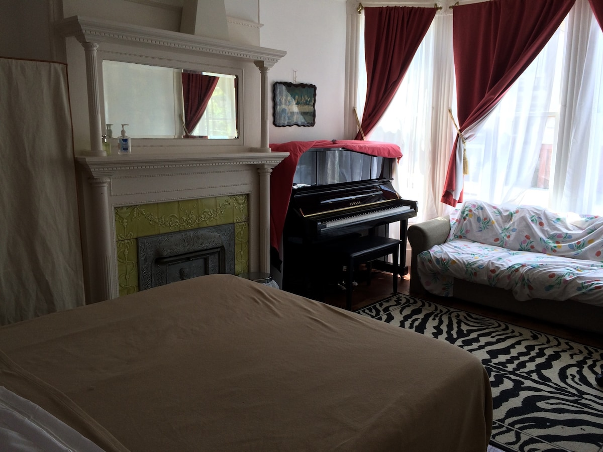 A Cozy Room in a Victorian House